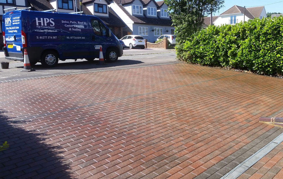 Block paving & Driveway Cleaning