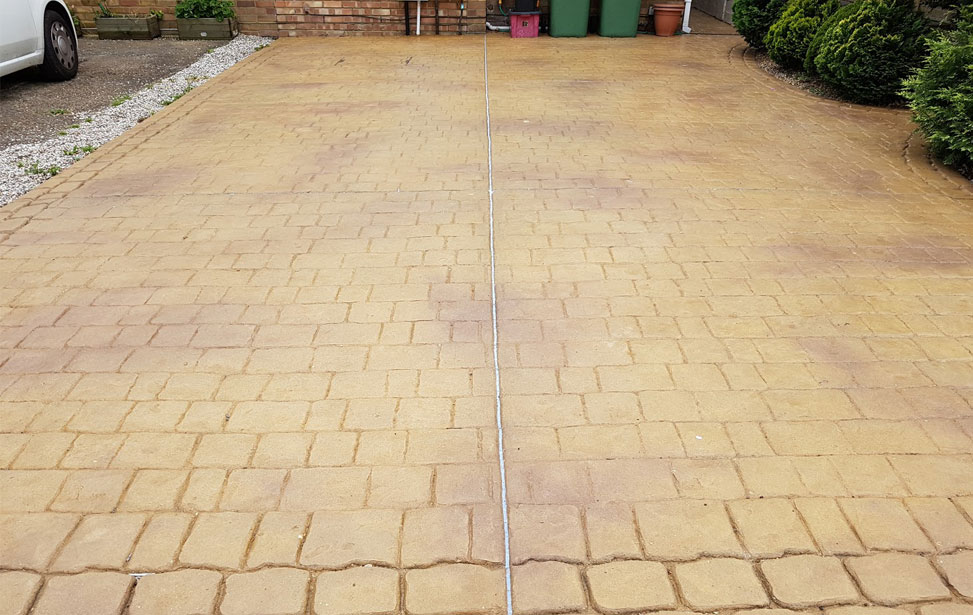 Imprinted Concrete Sealing Essex